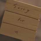 [Sorry For Us]