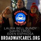 Christmas Broadway Bus Stop