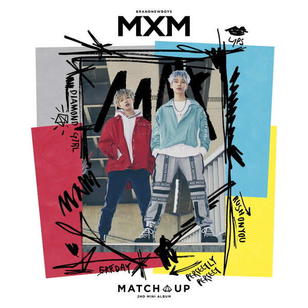 2ND MINI ALBUM 'MATCH UP'