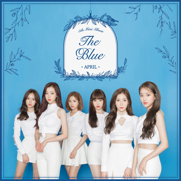 에이프릴(APRIL) 5th Mini Album 'The Blue'