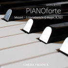 Mozart : 5 Variations In G Major, K.501_Thema. Andante