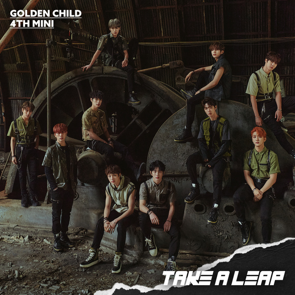 Golden Child 4th Mini Album [Take A Leap]