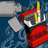 담배와 라이터