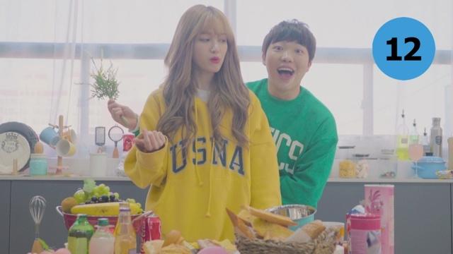복숭아티 (Feat. KASPER) 뮤직비디오 이미지