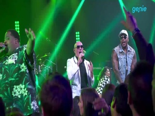Pitbull - [Greenlight (Feat. Flo Rida & LunchMoney Lewis)] LIVE 영상
