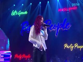 [박진영의 PARTY PEOPLE 02회] '헤이즈 (Heize)'의 'And July' 미공개 영상