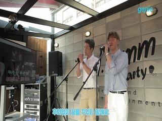 [지니뮤직 챌린지] 창민&이현 (HOMME) - 걱정말아요 그대 (노래방 LIVE)