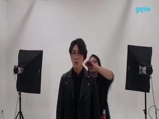 배인혁 - [나의 밤으로 와요 (Shall We Blues?)] 자켓 촬영 비하인드 1