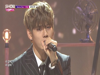 [쇼챔피언 273회] 'Wanna One (워너원)-더힐 - 모래시계 (Prod. 헤이즈)' (방송 Clip)