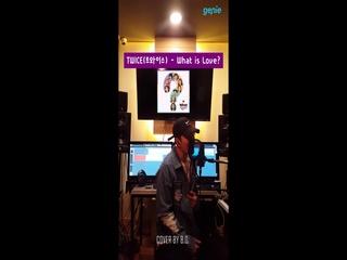 비오 (B.O.) - [Stay] 'TWICE (트와이스) - What is Love? (Cover. by B.O.)' LIVE