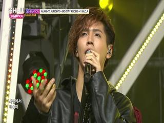 [쇼챔피언 277회] 'GENERATIONS from EXILE TRIBE - Alright! Alright!+BIG CITY RODEO+Y.M.C.A' (방송 Clip)