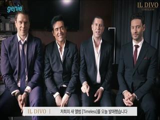 Il Divo - [Timeless] 앨범 발매 인터뷰 & 홍보 영상
