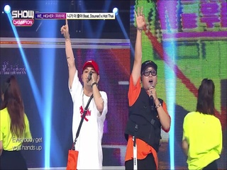 [쇼챔피언 280회] 'WE_HIGHER - I Like You More (Feat. Douner) X Hot Thai' (방송 Clip)