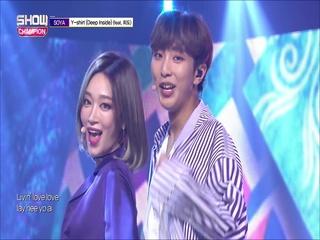 [쇼챔피언 281회] '소야 (SOYA) - Y-shirt (Deep Inside) (Feat. 희도)'(방송 Clip)