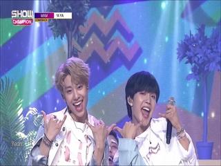 [쇼챔피언 281회] 'MXM (BRANDNEWBOYS) - YA YA YA' (방송 Clip)