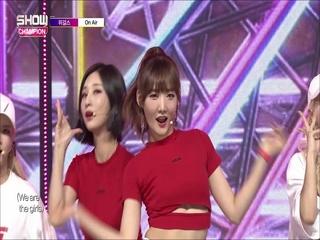 [쇼챔피언 283회] '위걸스 (We Girls) - On Air' (방송 Clip)