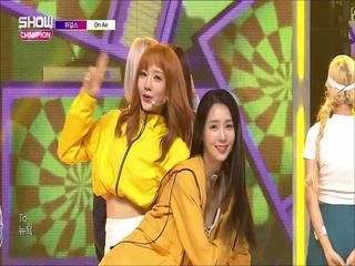 [쇼챔피언 284회] '위걸스 (We Girls) - On Air' (방송 Clip)