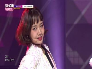 [쇼챔피언 289회] '위키미키 (Weki Meki) - True Valentine' (방송 Clip)
