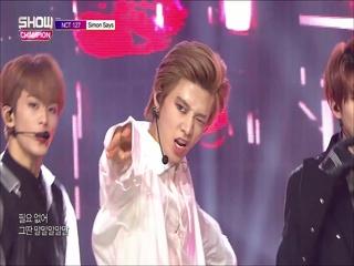 [쇼챔피언 294회] 'NCT 127 - Simon Says' (방송 Clip)