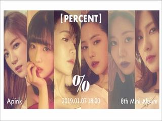 Apink 8th Mini Album 'PERCENT' Rolling Music (Teaser)
