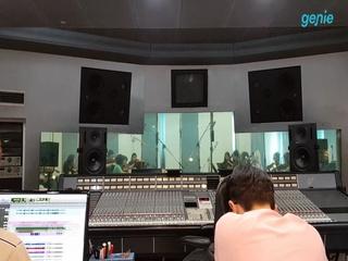 이휘영 - [날들과 바람] 'String' 녹음 현장