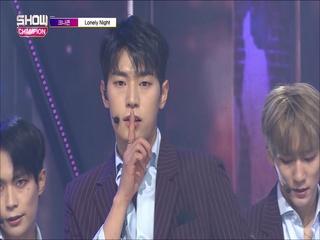 [쇼챔피언 299회] '크나큰 - LONELY NIGHT' (방송 Clip)