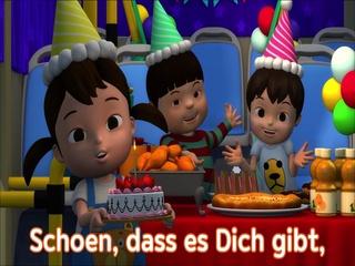 생일축하송 (독일어버전)