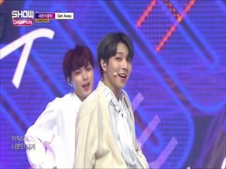 [쇼챔피언 304회] '세븐어클락 - Get Away' (방송 Clip)