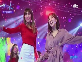 [JTBC 'Stage K'] '레드벨벳 & 미국 대표팀'의 '빨간맛' 공연 클립 영상