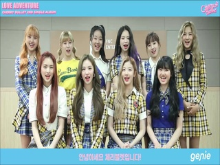 체리블렛 - [Cherry Bullet 2nd Sigle Album LOVE ADENTURE] 발매 인사 영상