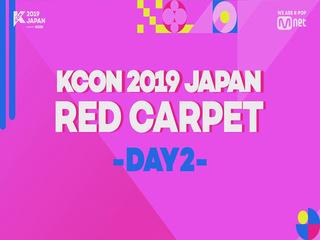 [#KCON2019JAPAN] Say Hi on #REDCARPET #DAY2