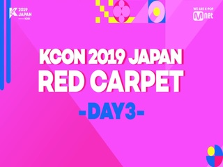 [#KCON2019JAPAN] Say Hi on #REDCARPET #DAY3