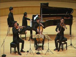 브람스 : 피아노 사중주 2번 A장조, 작품 26 - 4. Finale : Allegro