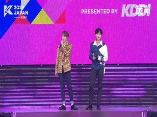 [#KCON2019JAPAN] Unreleased Footage - #HASUNGWOON & #KIMJAEHWAN
