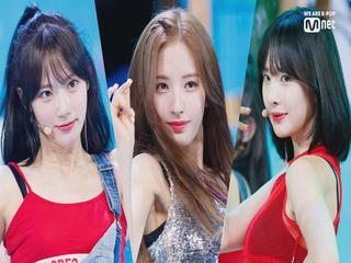 '최초공개' 청량 썸머퀸 '우주소녀'의 'Boogie Up' 무대