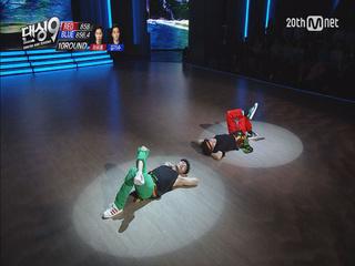 [6차전 믹스매치] 비보이 선후배, 하휘동과 김기수의 우정의 무대! 하휘동 vs 김기수