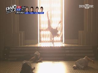 [결승전] 블루아이 4대 천왕 한선천, 박인수, 김기수, 윤전일이 뭉쳤다! 카리스마 폭발! 뜨겁고 강렬한 무대로 블루아이를 승리로 이끌다!
