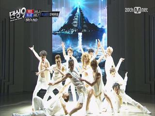 [결승전] 땡큐 댄싱9 블루아이! - 블루단체무대