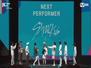 [KCON 2018 NY 미방영분] 스트레이키즈! 랜덤 플레이 댄스도 완.벽.소.화.
