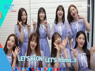 [KCON 2018 LA] LINE-UP RELAY - #fromis_9