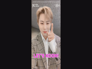 [#KCON2019JAPAN] Konnichiwa! #HASUNGWOON