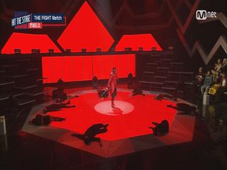 [The Fight매치 컨셉쇼]제이블랙크루의 강렬 검무