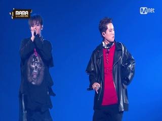 [2016 MAMA] NCT 127/TAEYONG&Jooheon(태용&주헌) - Fire Truck(소방차)/Rap Perf.