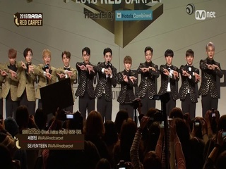 [2016 MAMA] Red Carpet_SEVENTEEN(세븐틴)