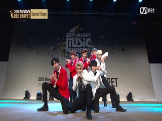 [2016 MAMA] Red Carpet_SF9 <Fanfare>