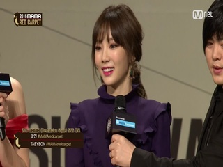 [2016 MAMA] Red Carpet_TAEYEON(태연)