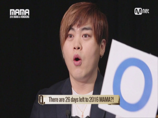 [2016 MAMA] Star Countdown D-26 by Moon Hee Jun