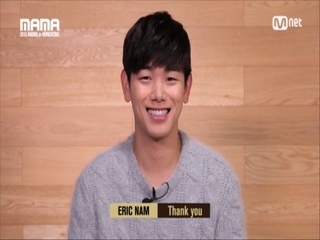 [2016 MAMA] Star Countdown D-6 by Eric Nam