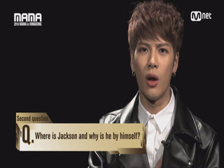 [2016 MAMA] Star Countdown D-2 by Jackson of GOT7