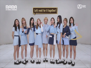 [2016 MAMA] Star Countdown D-9 by TWICE
